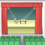 Piktogramm: Theater